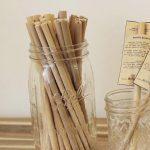 竹のストロー