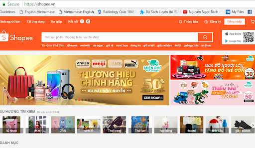 ベトナムNO.1人気のオンラインショップはShopee!